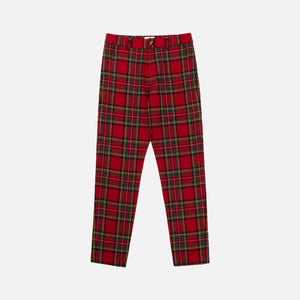 Aimé Leon Dore Plaid Trousers - Mac Red Image 1