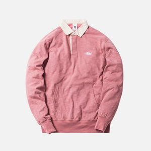 Aimé Leon Dore Long Sleeve Rugby Shirt - Dusty Pink