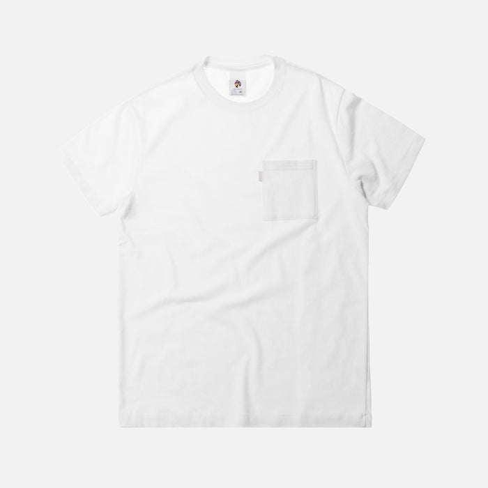 Aimé Leon Dore Short Sleeve Pocket Tee - White