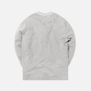Aimé Leon Dore L/S Ribbed Collar Tee - Grey