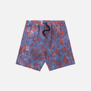 Aimé Leon Dore Tie Dye Leisure Shorts - Mineral Red