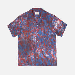 Aimé Leon Dore Tie Dye Leisure Shirt - Mineral Red