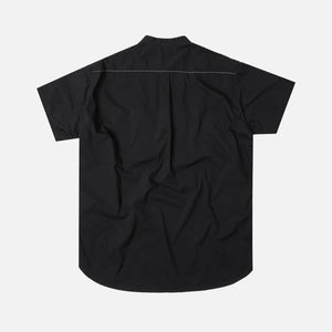 And Wander Laser Hole Over Shirt - Black