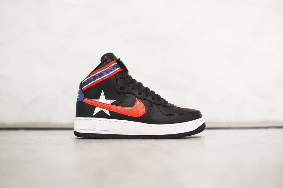 NikeLab x Riccardo Tisci Air Force 1 High Retro - Black / University Red / White