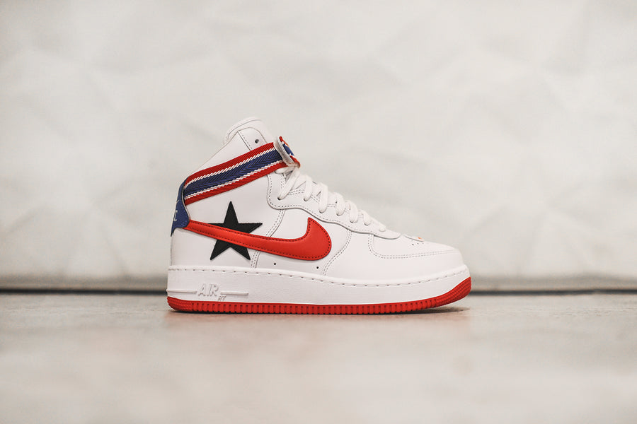 NikeLab x Riccardo Tisci Air Force 1 High Retro - White / University Red / Black