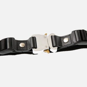 1017 Alyx 9SM Double Trench Belt - Black / Silver
