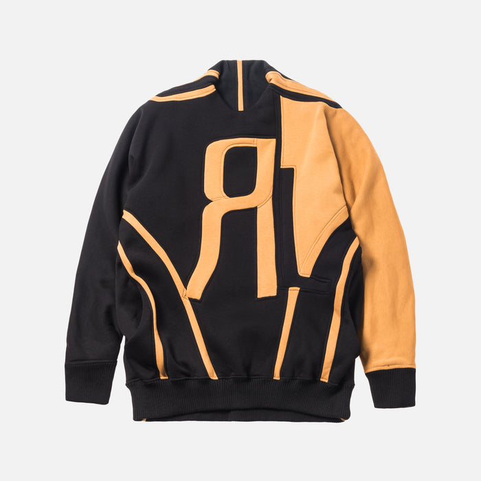 Rue-L RL Classic Sweater - Black / Yellow