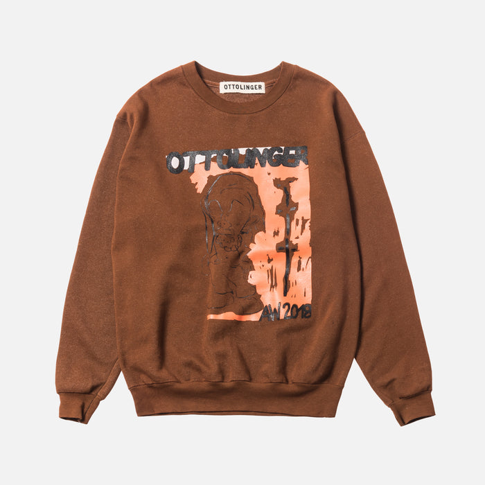 Ottolinger Sweater Print - Light Brown