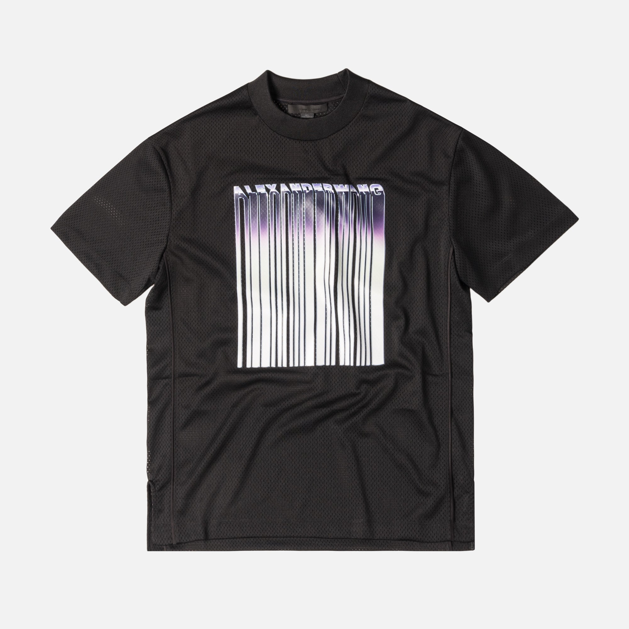 Alexander Wang Athletic Mesh Tee - Black