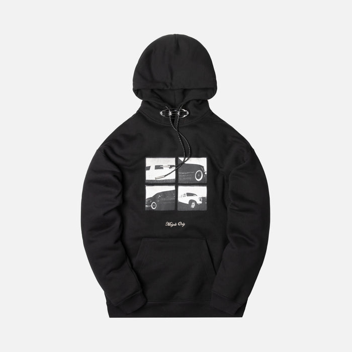 Alexander Wang CEO Bolo Hoodie w/ Limo Patch - Black