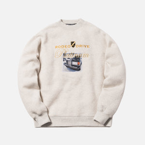 Alexander Wang Platinum Car Patch Crewneck - Oatmeal