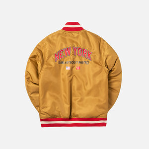 Alexander Wang Reversible Nylon Bomber Jacket - Gold