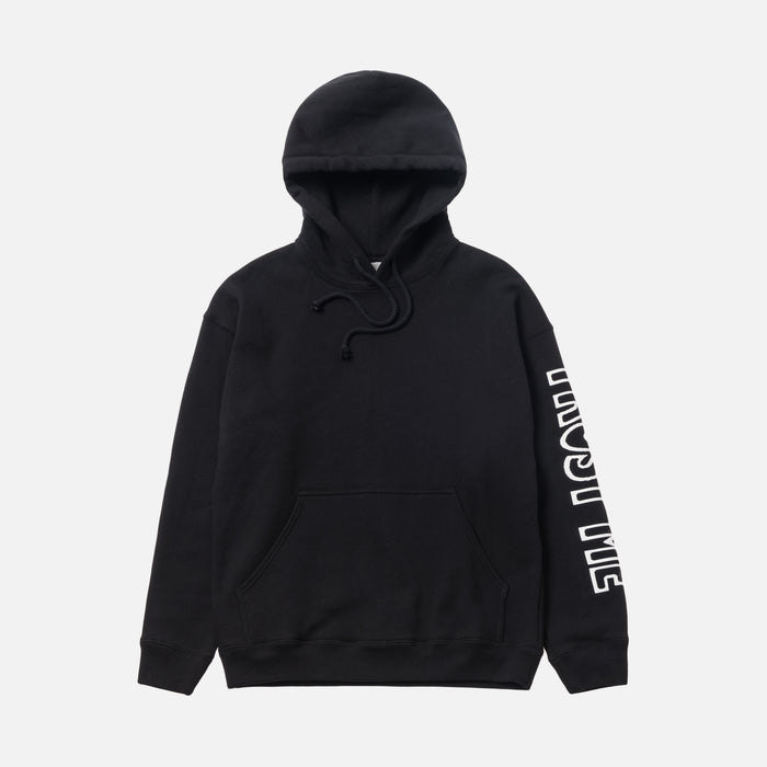 Ashley Williams Trust Me Pocket Hoodie - Black
