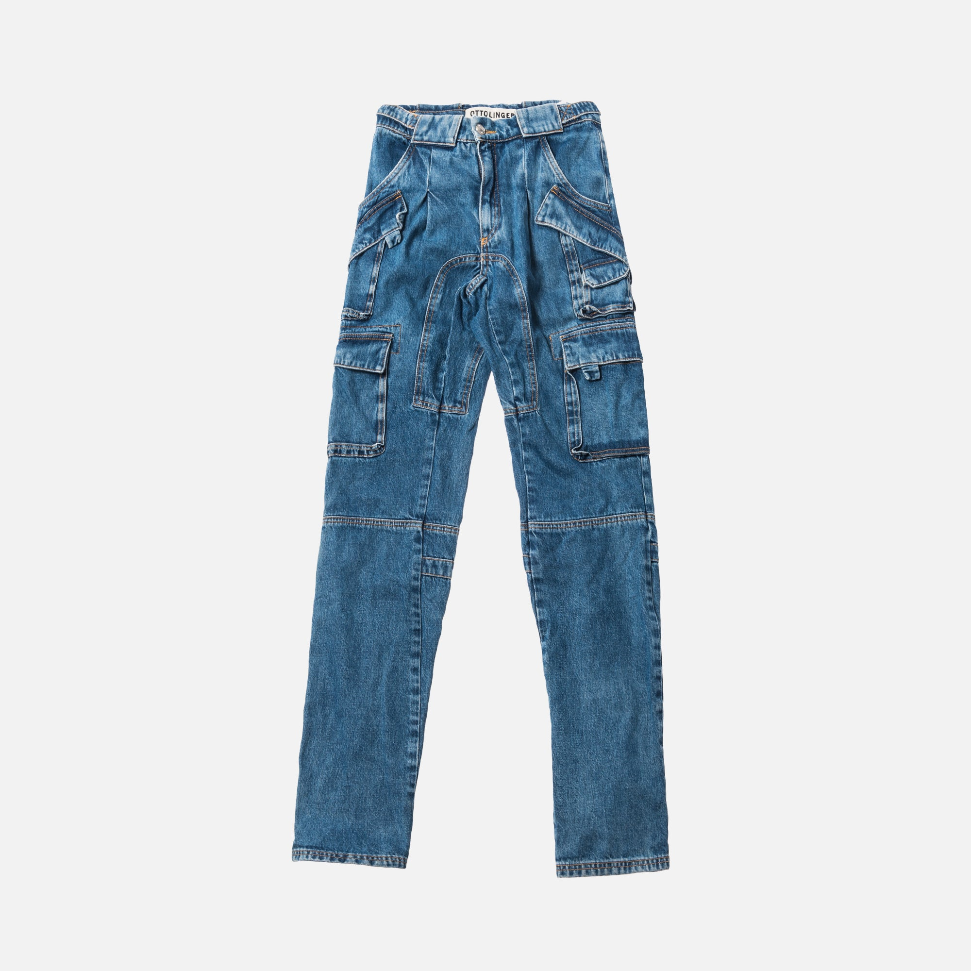 Ottolinger Cargo Pants - Denim