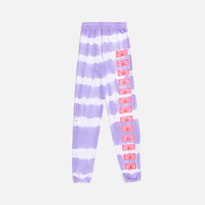 Ashley Williams Money Lounge Joggers - Lilac / White Image 1