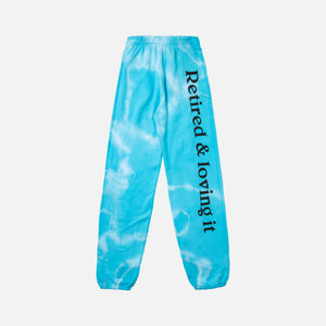 Ashley Williams Tie Dye Retired Joggers - Blue