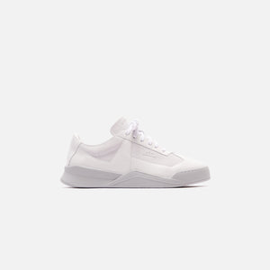 A Cold Wall Shard II Leather Trainer - White
