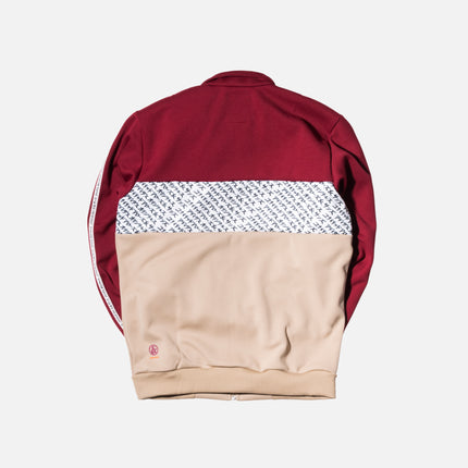 adidas Originals x United Arrows & Sons Track Suit - Burgundy / Gold