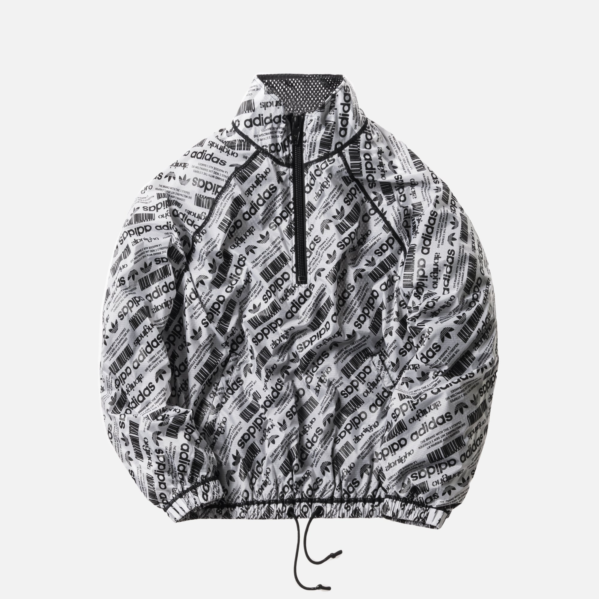 adidas Originals by Alexander Wang Windbreaker - Black / White