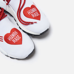 adidas Consortium x Human Made x Pharrell Williams NMD Hu - White / Scarlet / Core Black