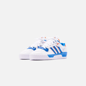 adidas Rivalry Low - White / Blue / Orange