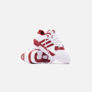 adidas Rivalry Low - White / Active Maroon Image 2