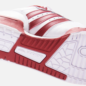 adidas Rivalry Low - White / Active Maroon Image 6