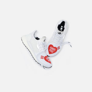 adidas Consortium x Human Made x Pharrell Williams Solar Hu -  White / Core Black / Scarlet