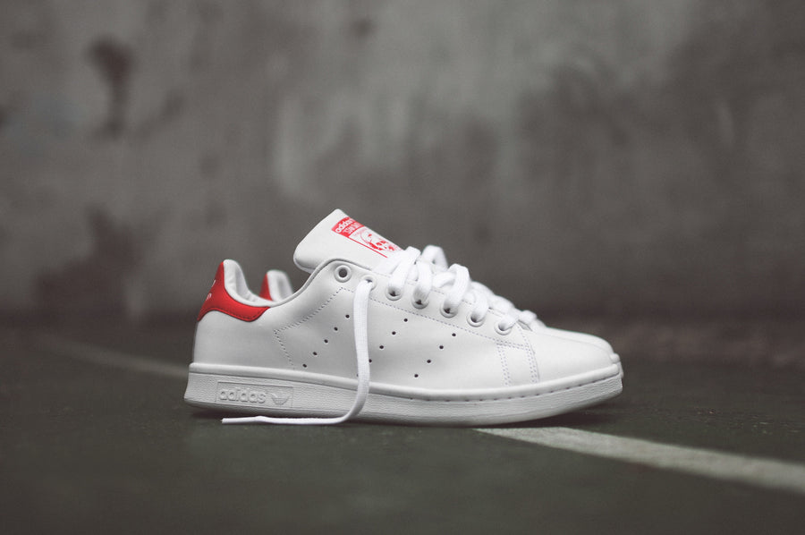 adidas Originals Stan Smith - White / Red