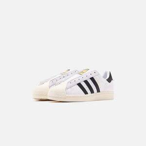 adidas Superstar Laceless - White / Black Image 3