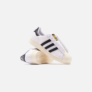 adidas Superstar Laceless - White / Black Image 2