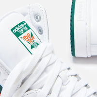 adidas Originals Top Ten High - White / Collegiate Green / Orange Thumbnail 1
