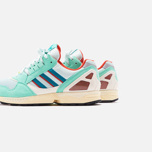 adidas Consortium ZX 9000 - Mint / Scarlet / Yellow