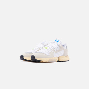 adidas ZX Torsion - White / Raw White / Easy Yellow