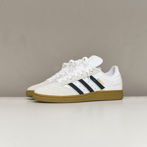 adidas Originals Busenitz - White / Collegiate Burgundy / Clear Mint