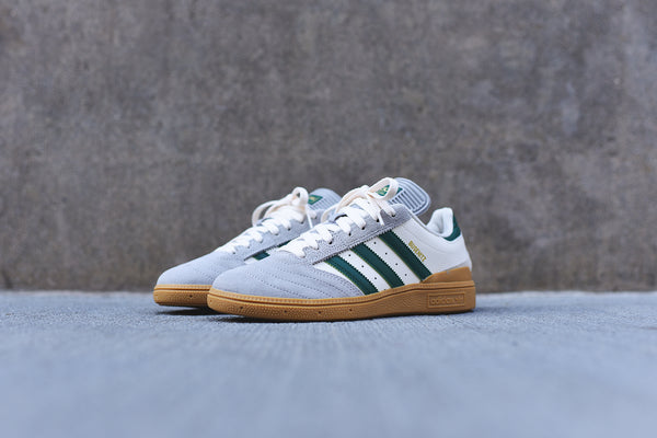 adidas Busenitz - Grey / White / Green