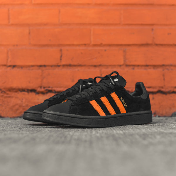 adidas Consortium x Porter Campus - Black   Orange ... 453eac803
