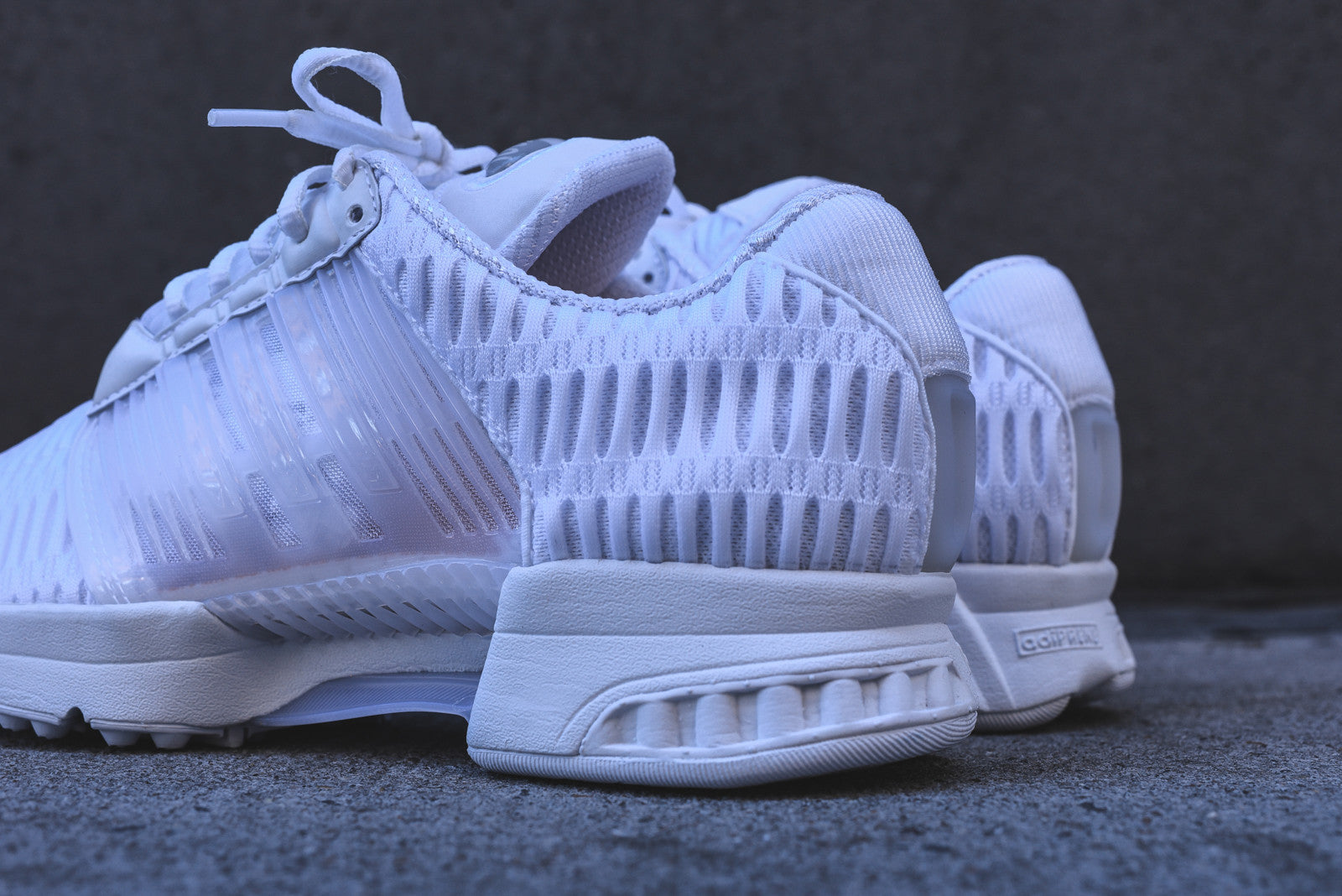 white adidas climacool trainers