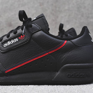 adidas Originals Continental 80 - Black / Red Image 5
