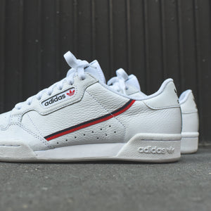 adidas Originals Continental 80 - White / Scarlet / Collegiate Navy