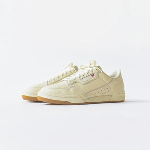 adidas Originals Continental 80 - Off White / Raw White / Gum
