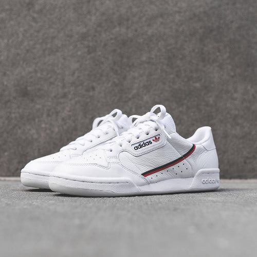 adidas Originals Continental 80 - Core White / Scarlet / Navy