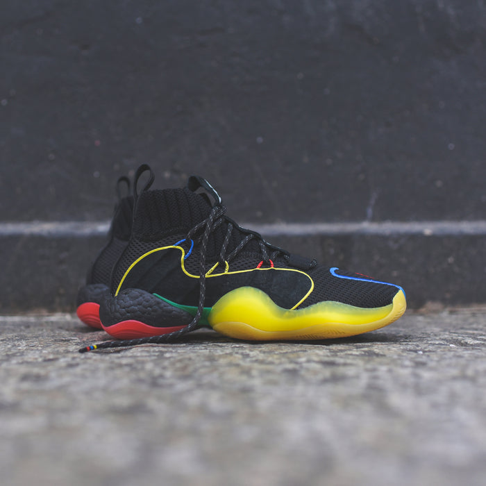 adidas x Pharrell Williams BYW LVL X - Core Black / Green / Red / Bright Royal
