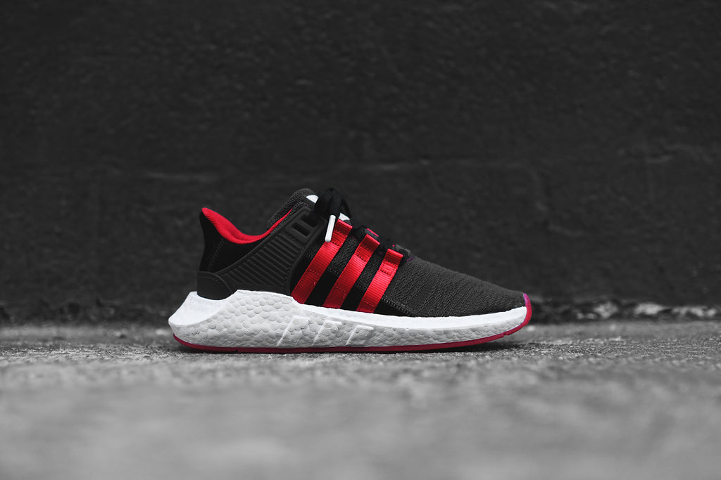 73c7e9373a34 adidas Originals EQT Support 93 17 Yuanxiao - Black   Red – Kith