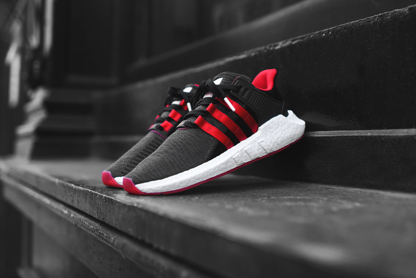 sports shoes 8c427 7185e ... coupon for adidas originals eqt support 93 17 yuanxiao black red d29a9  99b02