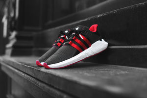 adidas Originals EQT Support 93 17 Yuanxiao - Black   Red – Kith 0207fb3406
