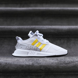 low cost e7c62 8b48e adidas Originals EQT Cushion ADV - White / Gold – Kith