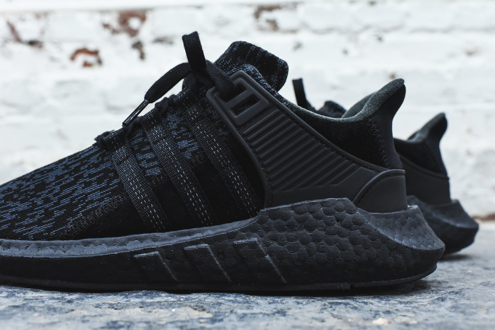 adidas Originals EQT Support 93/17 - Triple Black