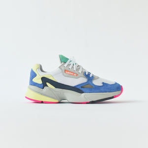 adidas Originals WMNS Falcon - White / Blue / Green