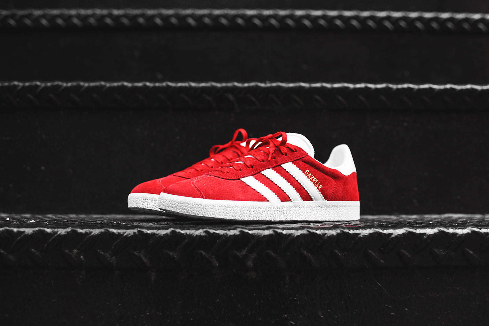 adidas Originals Gazelle - Red / White